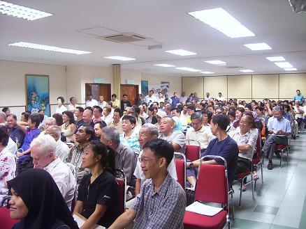 PGCC forum crowd