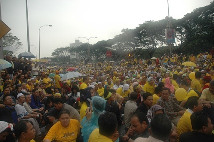 Bersih rally 10 Nov 2007