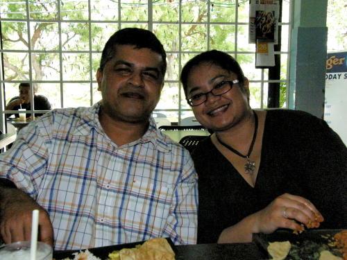 Zunar and Fazlina