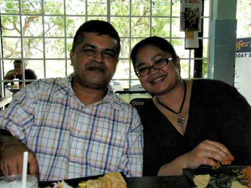 Zunar and Fazlina